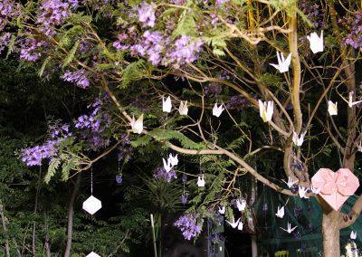 Cranes tree